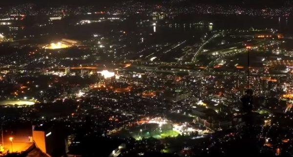 福岡で人妻・熟女といいムードになれるスポット2.皿倉山